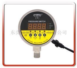 100MM径向全不锈钢数显电接点压力表
