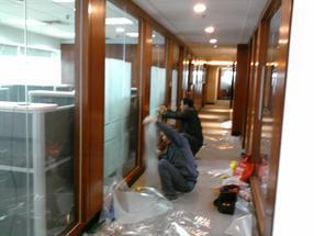 闵行办公室贴膜|防爆膜|装饰膜