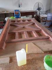异形水泥仿木栏杆模具