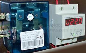 EM-001ECS/D大功率超压过压欠压保护器、断零线保护器(标准导轨式 家装普及型)