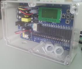 继电器汉字显示脉冲控制器 脉冲喷吹控制仪在线离线除尘控制器