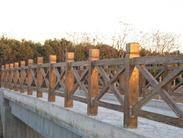 仿木栏杆X型