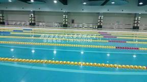 游泳池泳道线 标准六棱型泳道线 游泳池浮标