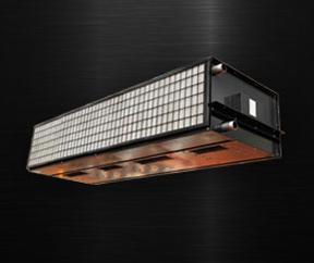 CPKF-A型暗装顶吹式空气幕