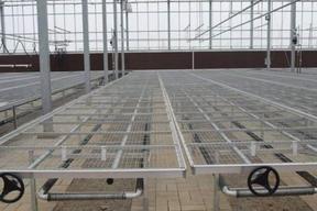 连栋大棚温室移动式苗床定制 厂家定做报价