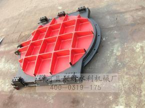 PGZ平面拱形铸铁镶铜闸门