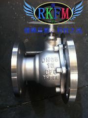 FQ681F-10P气动放料球阀-气动不锈钢放料球阀