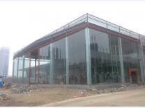15mm汽车展厅玻璃幕墙加工