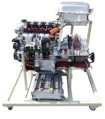 TW-XQ6油电混合动力汽车动力系统解剖演示台