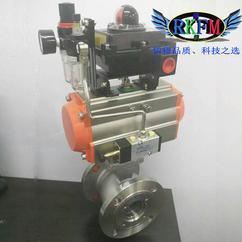 FQ81F卫生级放料球阀-三片式快装放料球阀