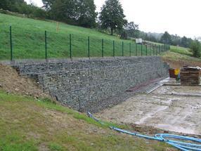 生态防护工程铅丝石笼网