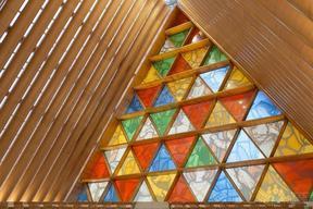 高温数码打印彩釉钢化玻璃