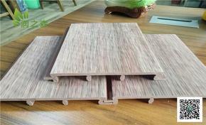 临沂大型装饰公司 专业生产生态木户外地板内外墙板