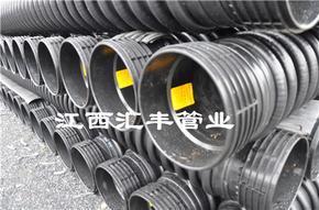 节流式承插式节流式HDPE缠绕增强管生产厂家行业领先