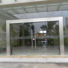 青岛开发区玻璃门安装--青岛开发区肯德基门安装