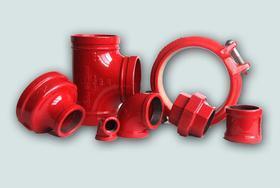 上海沟槽管件/沟槽配件/消防配件/卡箍连接/迈克牌管件