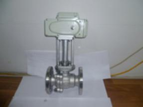电动阀系列-电动高温硬密封球阀