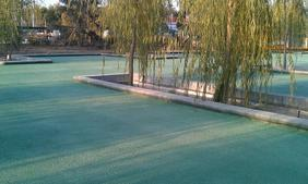 室外彩色透水地面-透水地坪涂料