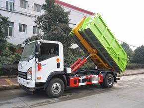 大运8吨勾臂垃圾车