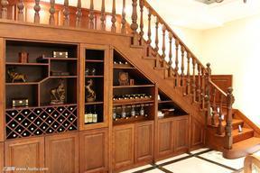 实木楼梯,别墅楼梯,墅木楼梯