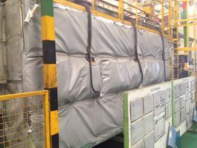 欧美最新可拆卸式柔性保温套隔热板