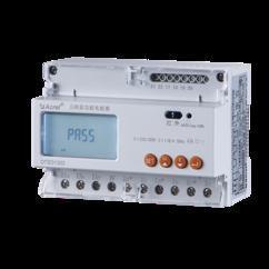 安科瑞DTSD1352-C 带RS485通讯电能表 三相互感器远程电表 改造用
