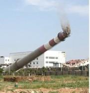 宣城烟囱拆除公司【混凝土烟囱拆除、砖烟囱拆除】