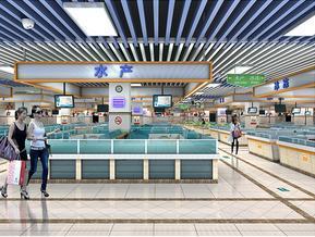 湘潭农贸生鲜市场设计 湘潭生鲜超市设计就选长沙壹番设计