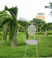 园林桌椅,铁艺花架