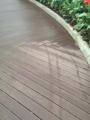 西安高端印尼菠萝格防腐木地板厂家报价