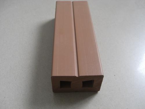 西安25*140圆孔咖啡色木塑地板龙骨厂家生产施工