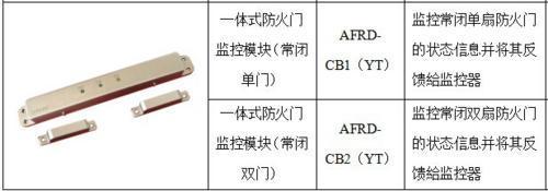 AFRD-CB1/2(YT)一體式防火門常閉模塊
