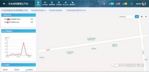 陕西省智慧消防建设安科瑞安全用电云平台
