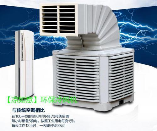 厂房车间降温通风之凉如意环保空调