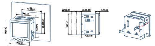 電力監測設備APM800/MCE以太網接口儀表