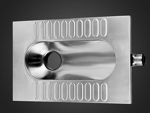 新凯XKD-809公共厕所不锈钢大便器