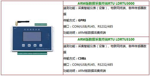 蓝迪 遥测终端RTU(LCD-RJ45)