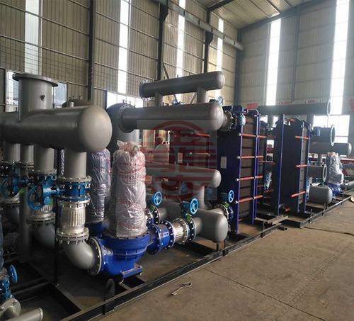 智能换热机组  济南张夏供水设备厂