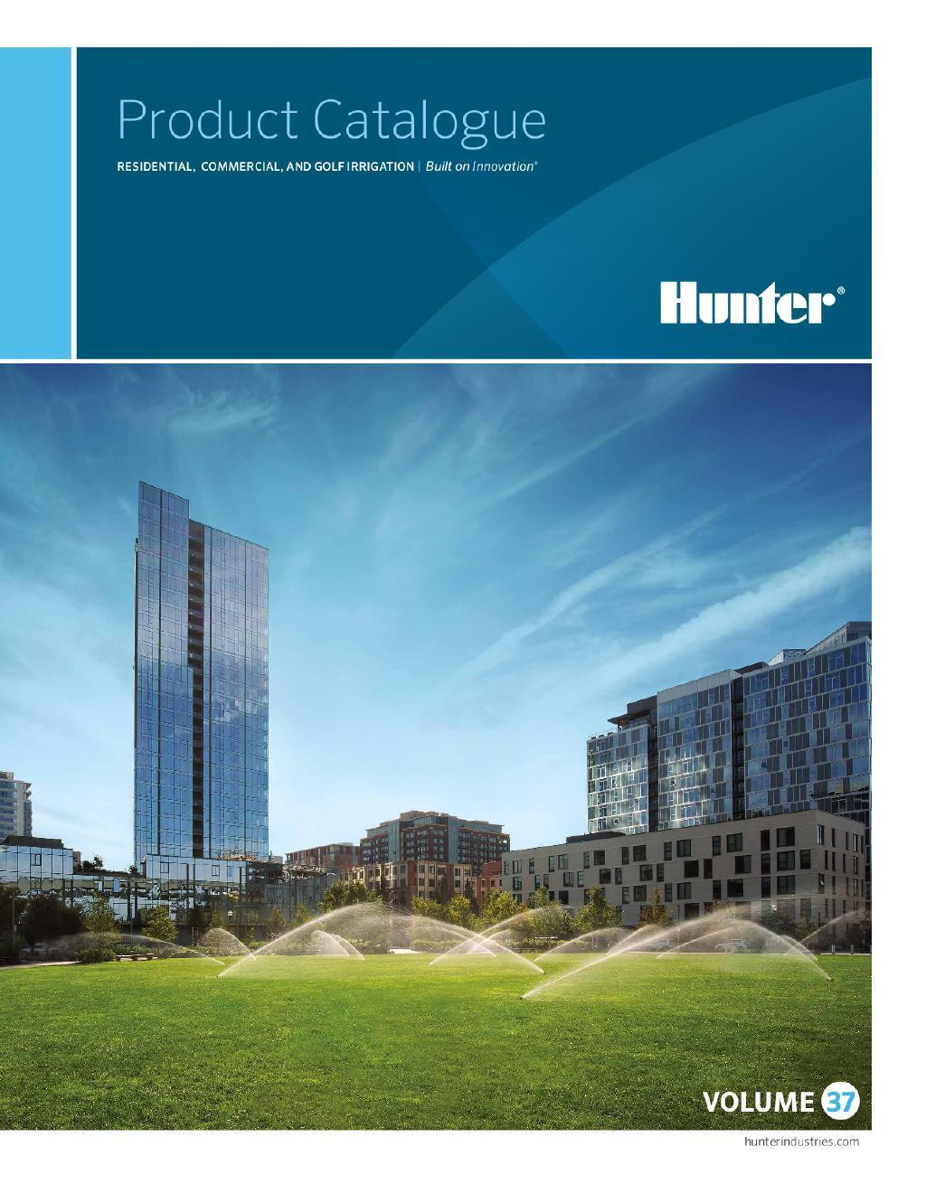 Hunter Product Catalogue-2019