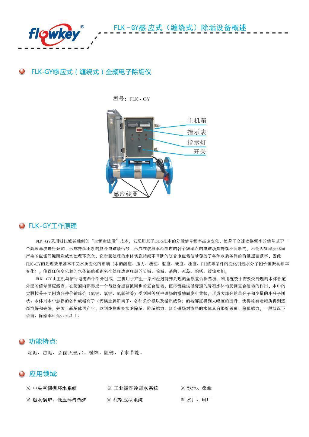 缠绕式电子水处理器